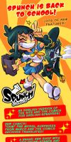 Spunch Comics now available in English! by Rafchu