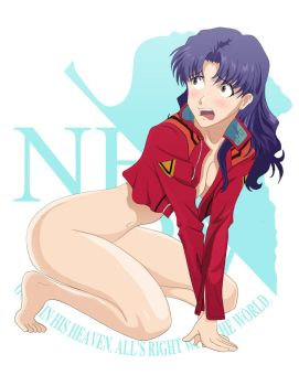 Misato Bottomless 01 Final by rorschach089