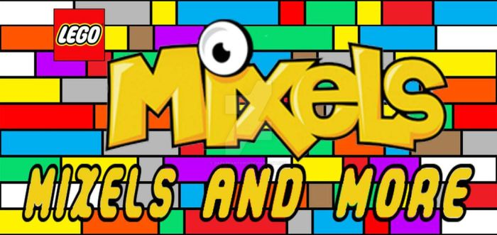 Lego Mixels and More Logo by DARKPHANTOM13
