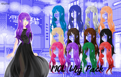 .: MCL PACK = Wigs :. by HikiiChan