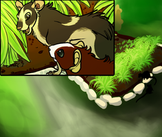 TRP   Rattus and Linden   The Garden by MissAlmighty