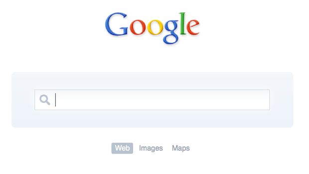 Minimalist Google by HACK3R9