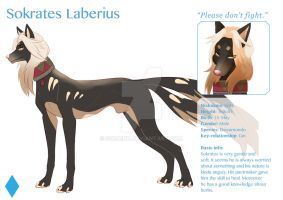 Sokrates (wolf form) - reference by Kagay