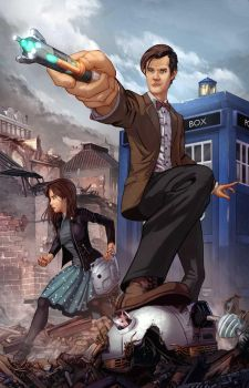 The Eleventh Doctor by vest