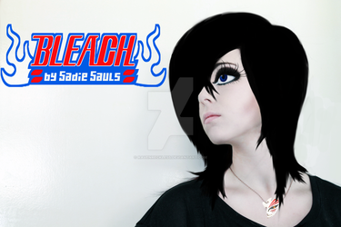 Rukia Kutchiki Cosplay/image manipulation by RavenReckless