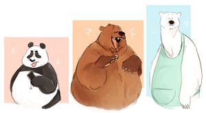 Bear Boys by wbbbrothers
