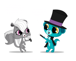 LPS- Comedian/Magician Act by bristlestream