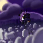 DTA entry- Graveyard shift. by Steampoweredche