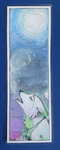 To The Moon - Bookmark by Foxface-x3