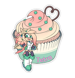Comm. Food Sticker. Tetra by 13VOin
