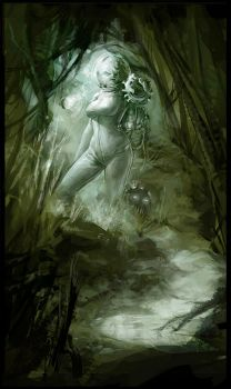Swampgirl from outerspace by ChristianNauck