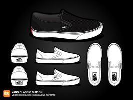 Vans Classic Slip On by deleket