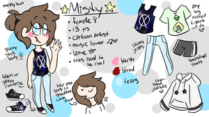 Misty reference 2016 / meet the artist by sansy-pansy