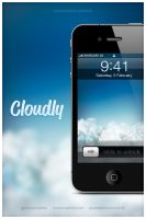 Cloudly - iPhone 4 by victoranselme