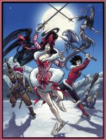 Raid of the Ice Follies by QueenGwenevere