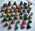 Animal Charms by ChibiSayuriEtsy