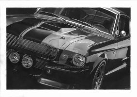 1967 Mustang Shelby Cobra GT500 Eleanor by przemus