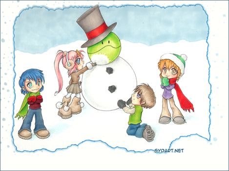 Winter time by shidonii