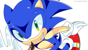 Sonic The Hedgehog in MS Paint by LazyCoffee45