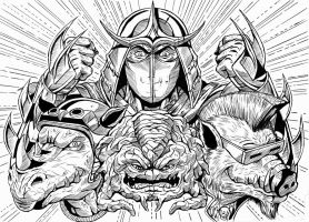 Sheredder and foes by leandro-sf