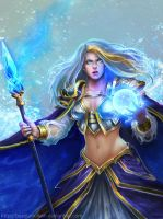 Jaina proudmoore Ice version by basotahuikan