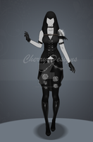 (closed) Auction Adopt - Outfit 493 by CherrysDesigns