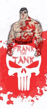 Frank The Tank Color by MormonFury