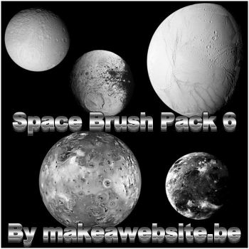 Space Brush Pack 6 by Rizl4