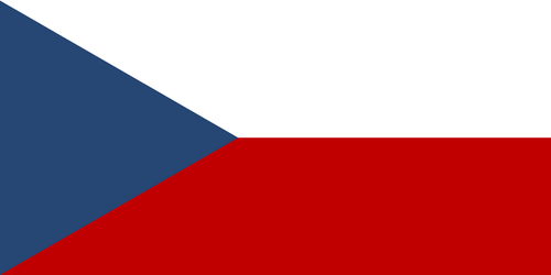 Flag of the Czech Republic by JMK-Prime
