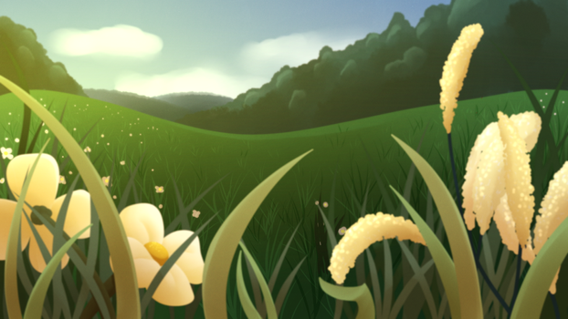 Sunny field by SugaryViolet