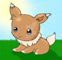 EEVEE PREVO CONTEST ENTRY by psychoartist1101