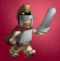 OC : Ang Morion LEGO Minifig by wansworld