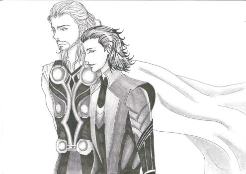 Thorki by dat0cupcake0tho