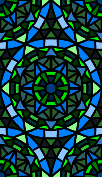 Rose Window Style Doodle by groundhog22