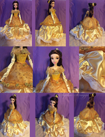 Custom Belle Doll by Sophillia