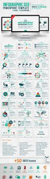 Infographic SEO Powerpoint Template by kh2838