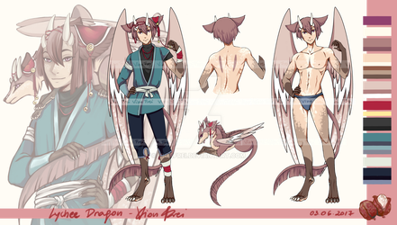 [CLOSED] Adoptable Auction - Lychee Dragon by VionFrei