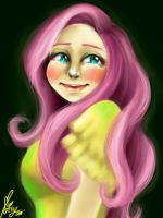 Fluttershy by thecarefree