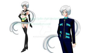 Yaten and Healer in Crystal Design by Jolin-chan