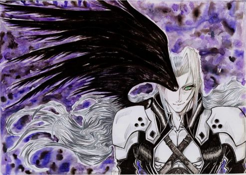 one winged angel finished by Meutrien