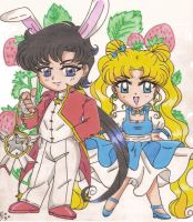 Usagi in Wonderland by SEIROTH