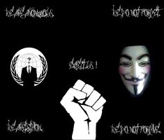 We are Anonymous by Surrealpro
