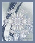 Suspended Snowflake by Layla-Rose
