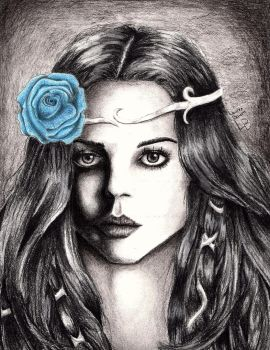 Blue Rose by AuthenticBeauty1