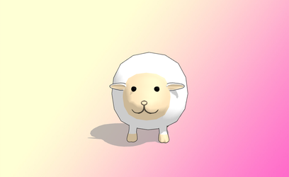 MMD Sheep by amiamy111