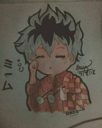 Kaneki Ken Chibi by whosCrispy