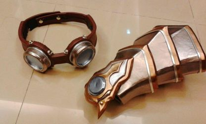 Prop for Ezreal [LoL] cosplay by GowentKorn