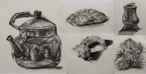 Charcoal Sketches Week 2 by Candor-Shade