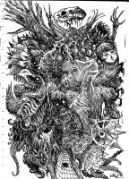 Doodle Chaos by Hullingen