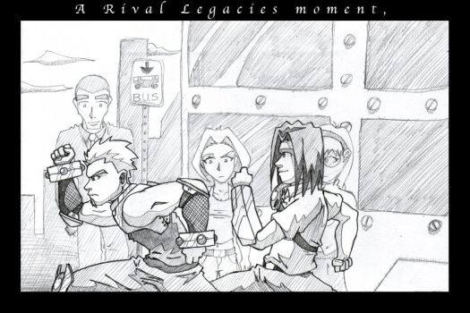 A Rival Legacies Moment by kildeh